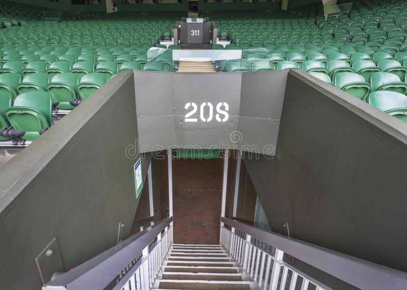 Endroit de visite de Wimbledon photo stock