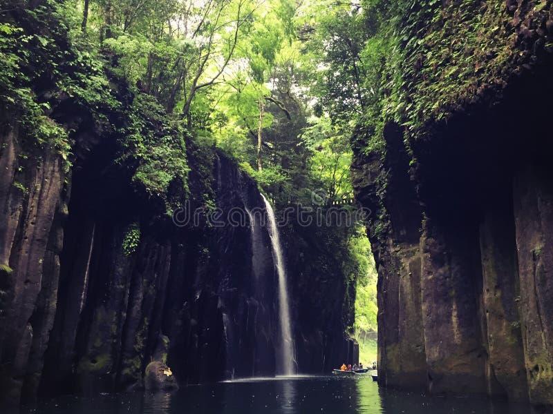 Endroit paisible au Japon photographie stock