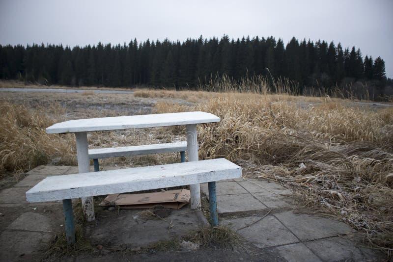 Endroit pour la solitude photo libre de droits