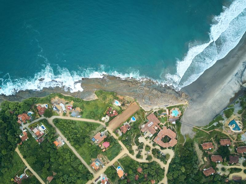 Endroit pour le touriste au Nicaragua photographie stock libre de droits