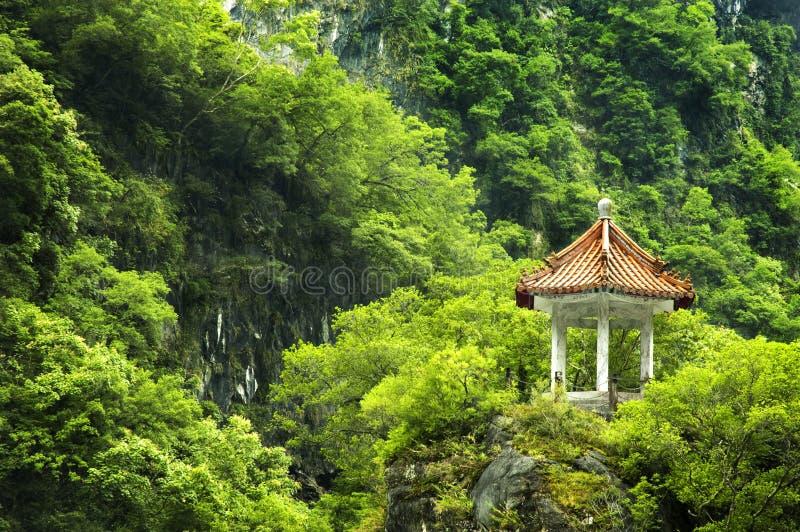 Endroit scénique chez Taiwan photo libre de droits