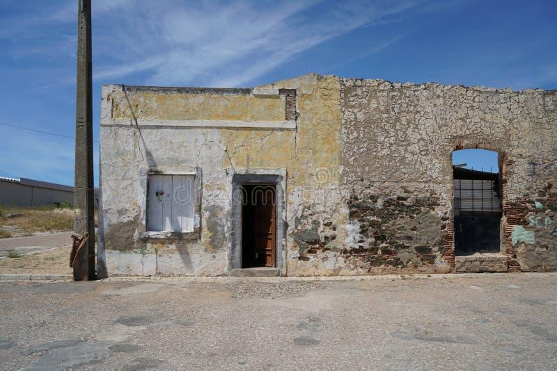 Endroits abandonnés photographiés avec la grandes résolution et acuité images stock