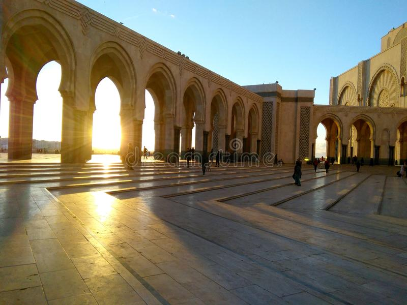Endroits historiques de Morocoo photographie stock