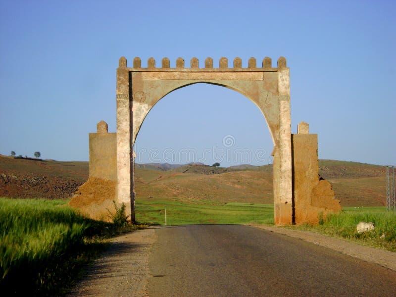 Endroits historiques du Maroc image libre de droits
