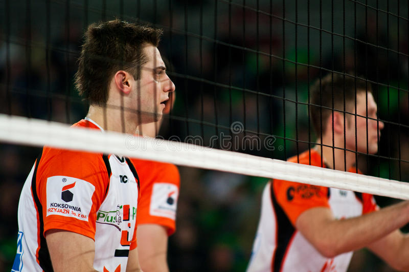 Enea Cup Poland volleyball royalty free stock photography