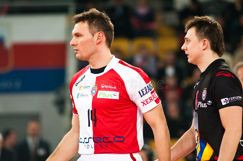 ENEA-Cup-Polen-Schlüsse stockbilder