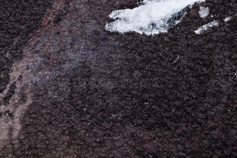 Enegreça o fundo martelado do metal, textura metálica do sumário, folha da superfície de metal pintada com pintura do martelo fotografia de stock royalty free