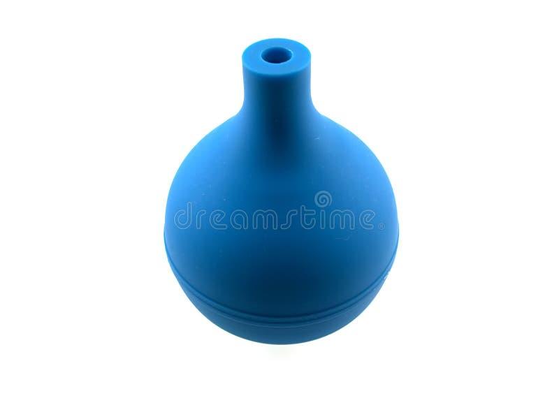 Enema de goma azul marino imagen de archivo libre de regalías