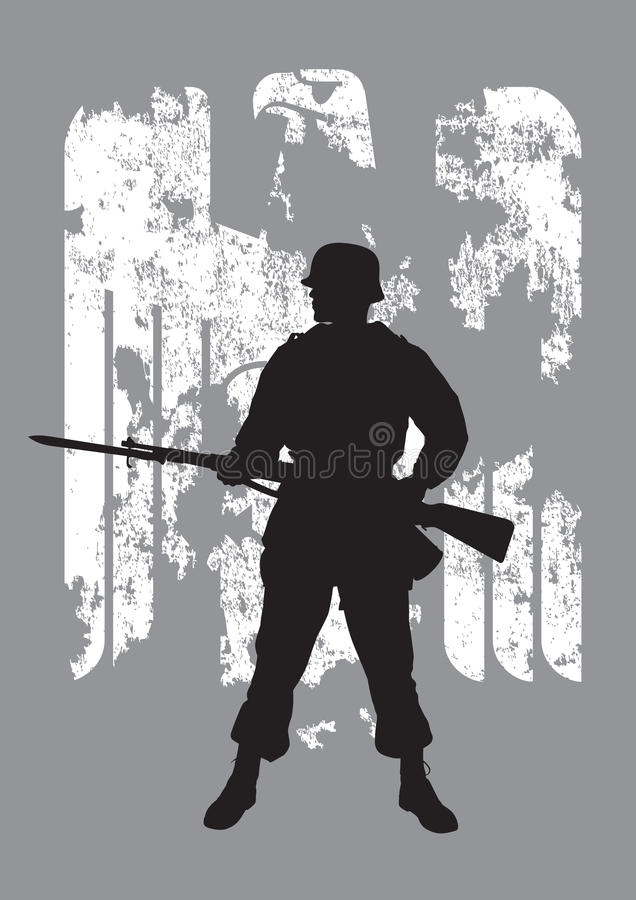 Enemy Soldier Royalty Free Stock Photography