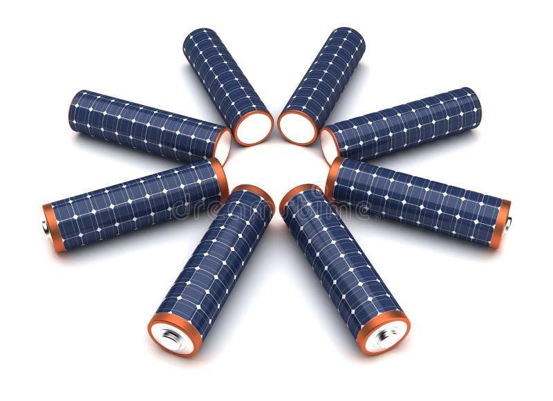 Energía alternativa ilustración del vector