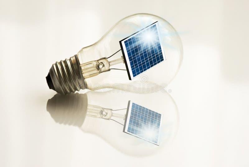 Energía alternativa y desarrollo sostenible imagen de archivo libre de regalías