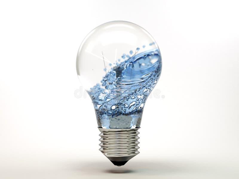 Energía de agua fotografía de archivo libre de regalías