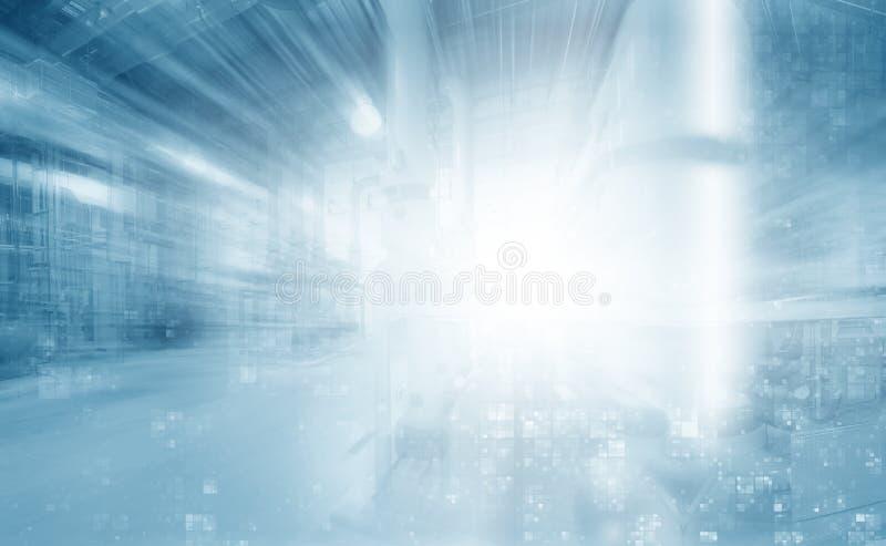 Energía de Digitaces imagen de archivo