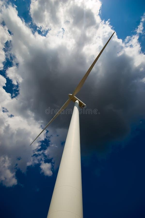 Energía de Eolic foto de archivo