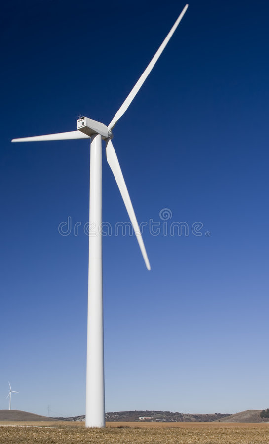 Energía eólica foto de archivo libre de regalías