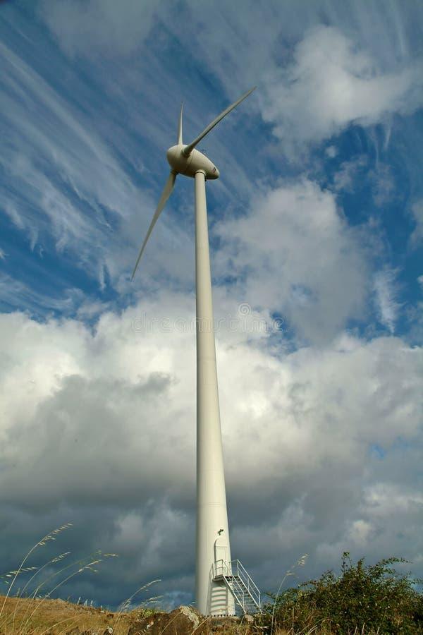 Energía eólica imagenes de archivo