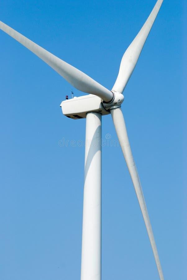 Energía eólica para la electricidad fotografía de archivo