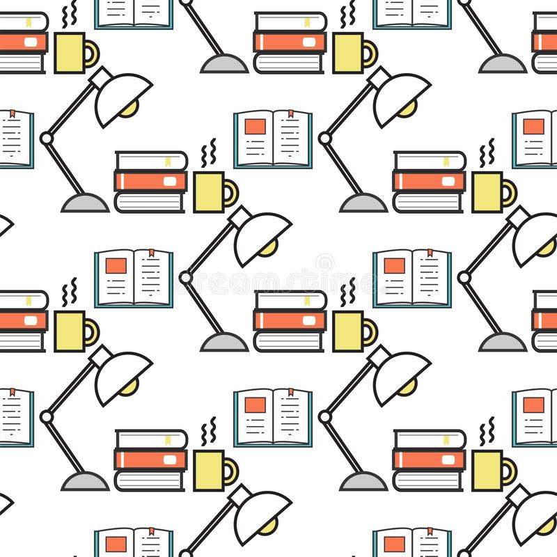 Energía inconsútil de la solución del intercambio de ideas del ejemplo del vector del diseño del fondo del modelo de la bombilla  stock de ilustración