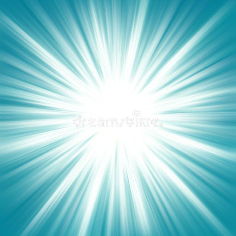 Energía (luz de la estrella) ilustración del vector
