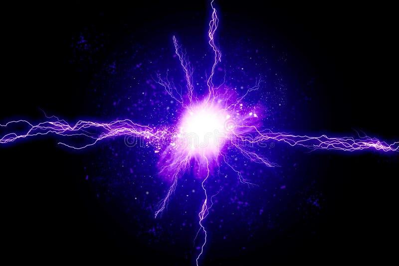 Energía potente stock de ilustración
