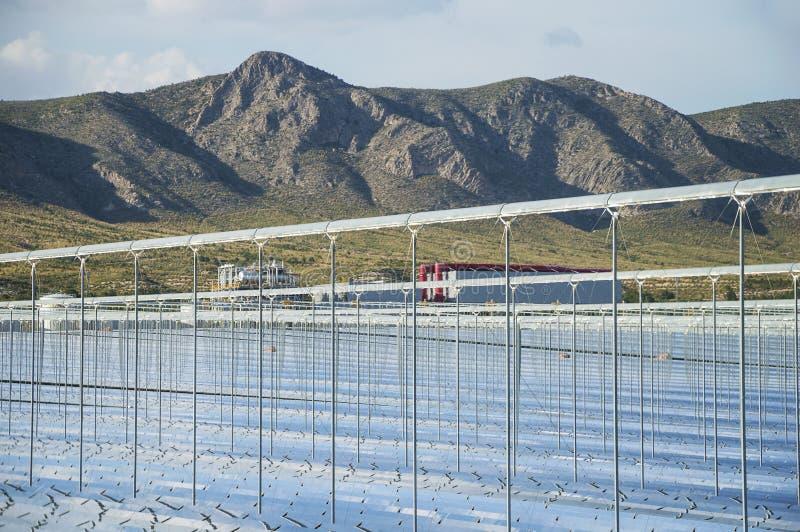Energía renovable: Solar como la mejor manera de producir energía verde fotografía de archivo libre de regalías