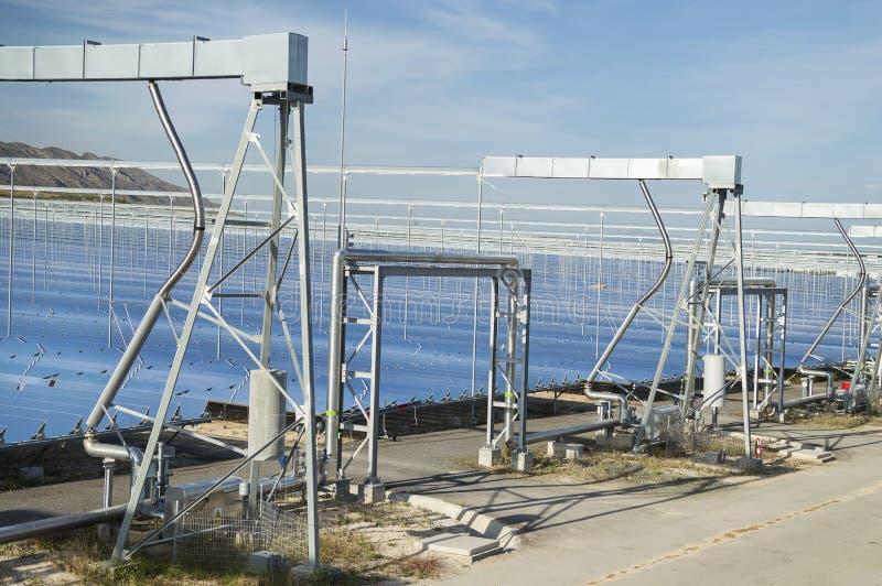 Energía renovable: Solar como la mejor manera de producir energía verde foto de archivo libre de regalías