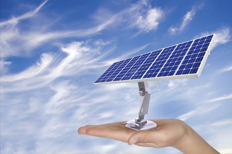 Energía solar ilustración del vector