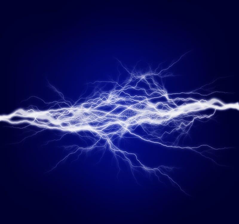 Energía y electricidad puras stock de ilustración