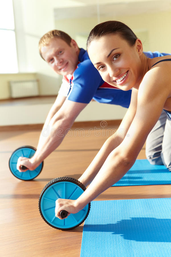Energetic activity royalty free stock image