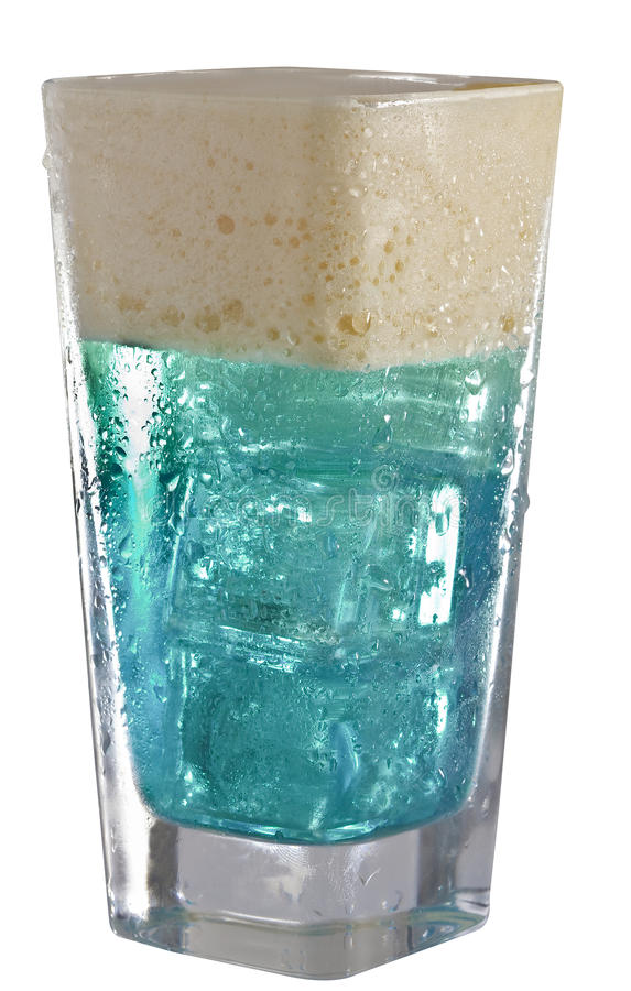 Energetic Blue Drink Stock Photography