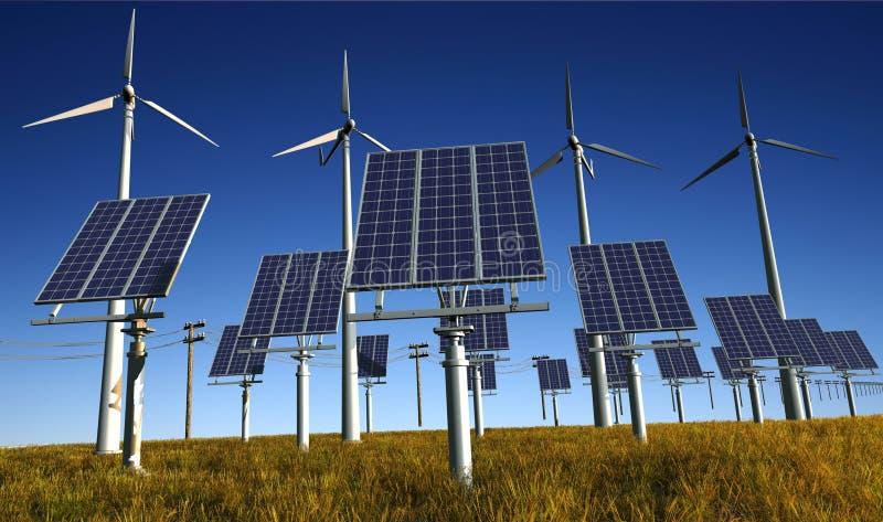 energetyczna natura ilustracji