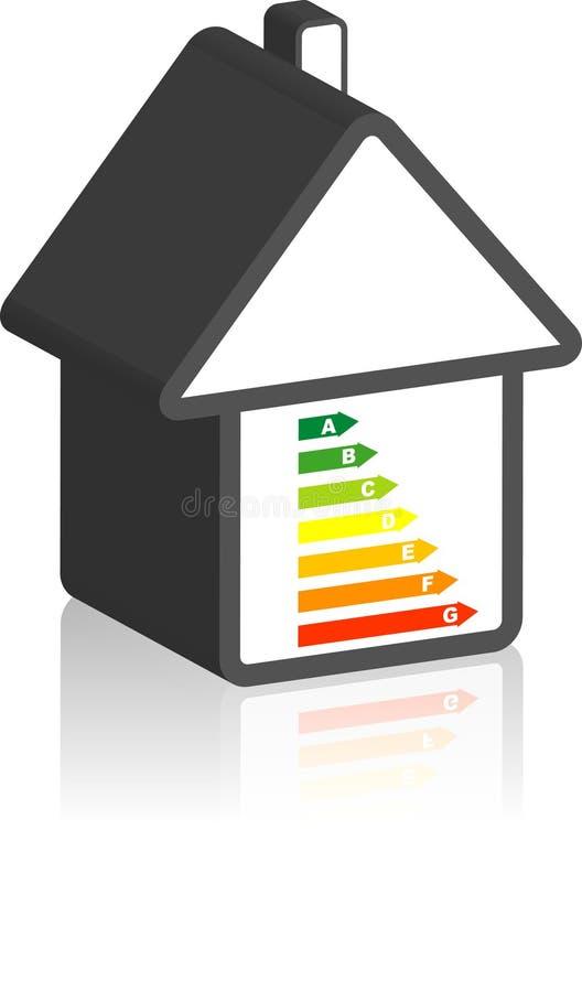 energetyczna przepustka ilustracja wektor