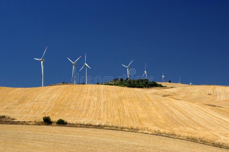 energetyczni eolic generatory zdjęcia royalty free