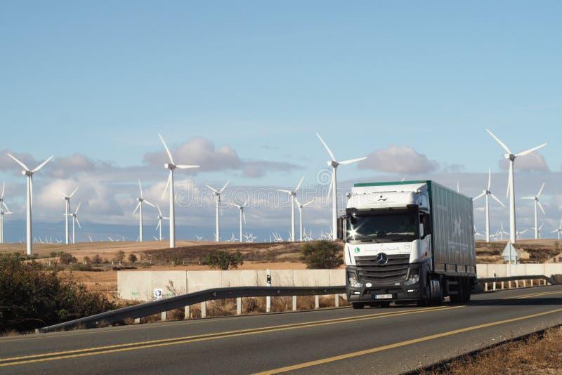 energetyczni eolic generatory zdjęcie royalty free