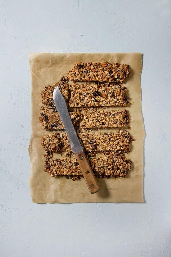 Energetyczni granola bary fotografia stock