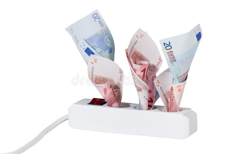 energetyczny pieniądze obraz royalty free