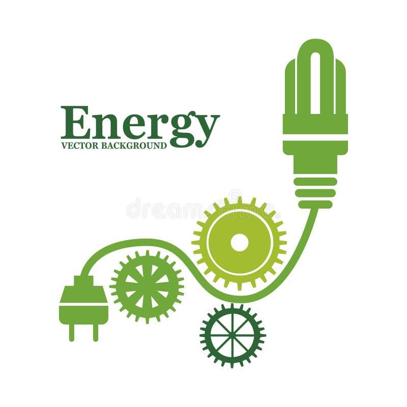 Energetyczny projekt royalty ilustracja