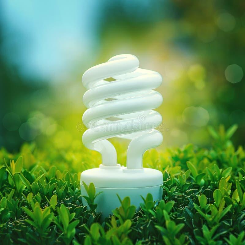 Energi - besparing och alternativ makt arkivbilder