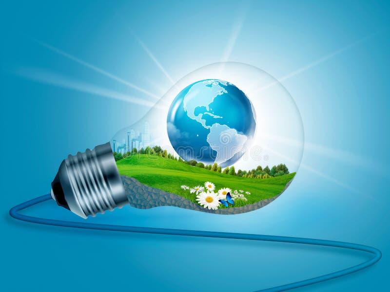 Energi inom. fotografering för bildbyråer