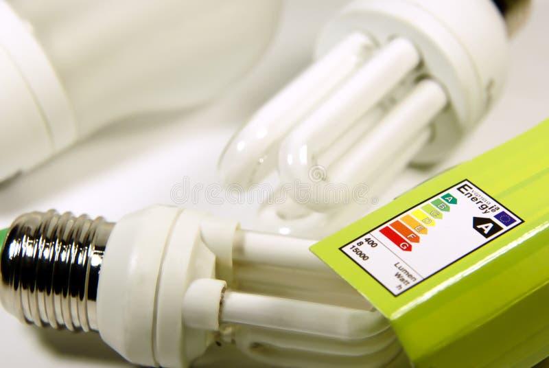 energi - sparande arkivfoton