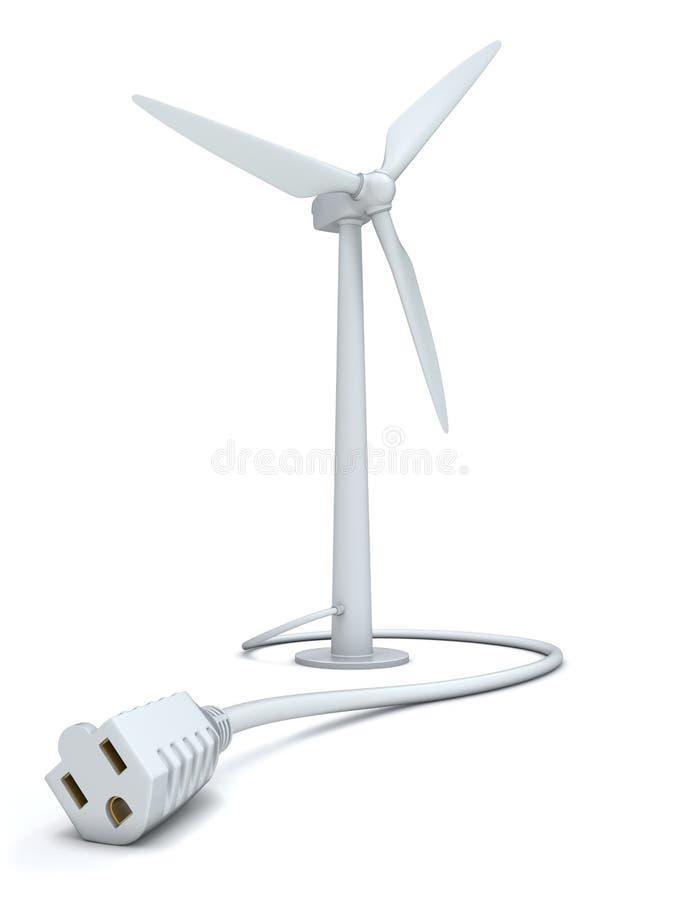Energia alternativa ilustração stock