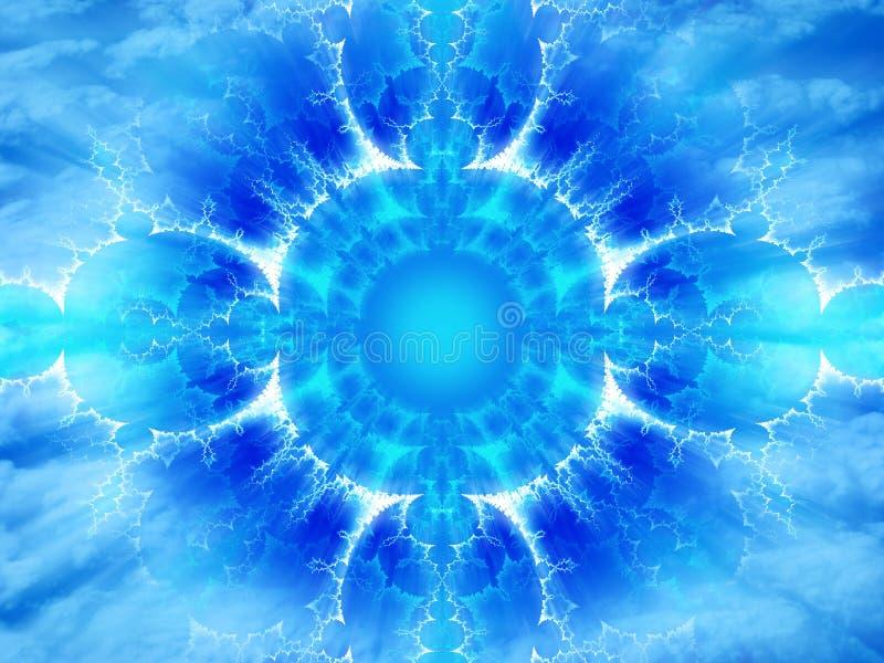 Energia astral ilustração do vetor