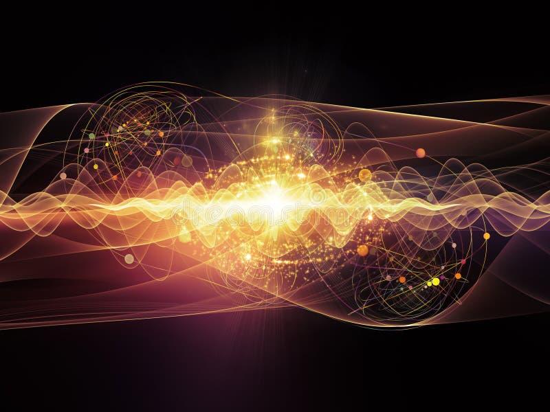 Energia atom ilustracji