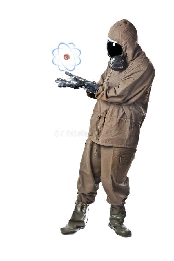 Energia atomowa zdjęcie stock