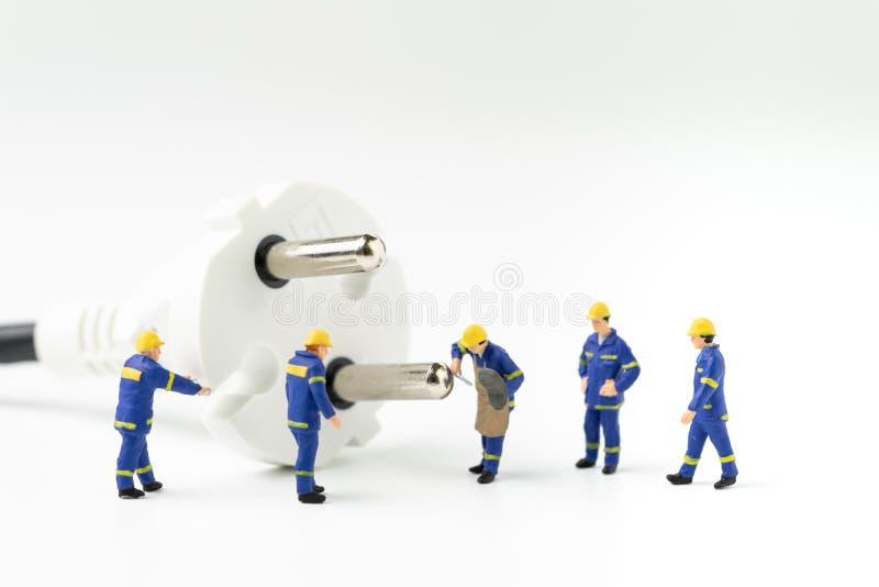 Energia, consumo de potência ou inovação sustentável da eletricidade imagens de stock
