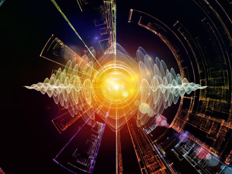 Energia Cyfrowego wzrok royalty ilustracja