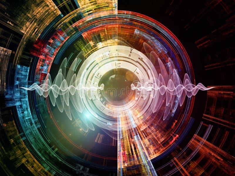 Energia Cyfrowego wzrok ilustracji