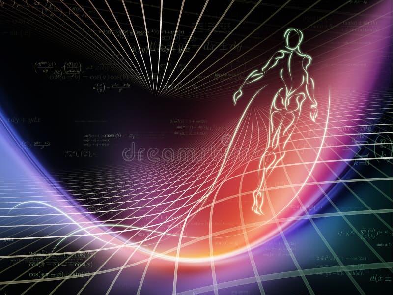 Energia da geometria ilustração do vetor