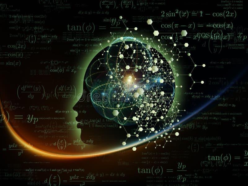 Energia da mente ilustração do vetor