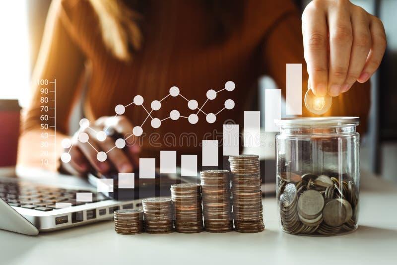 energia de salvamento da ideia e conceito explicando da finança foto de stock royalty free